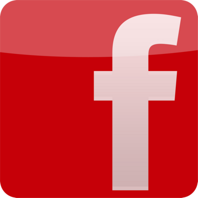 Facebook Red Logo psd64227